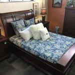 1-32571 Bedroom Set--Queen Headboard, Footboard, Side Rails, Chest, 2 Nightstands