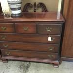 1-32078 Wood Dresser w/ Mirror