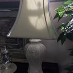 1-33094 Oriental White Lamp