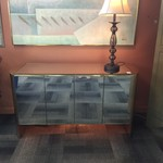 1-33064 Mirrored, Lighted Buffet