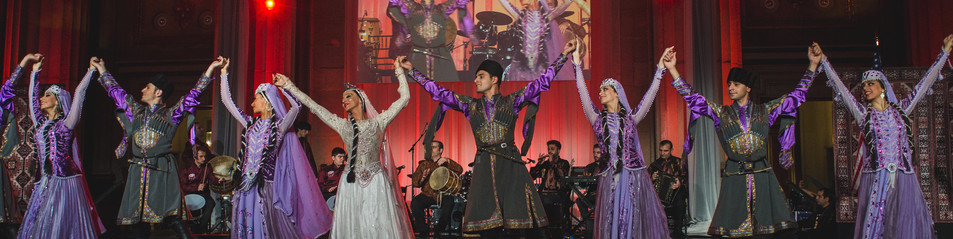 The State Dance Ensemble at the 2014 Azerbaijan American Alliance Cultural Gala