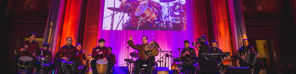 Natig Rhythm Group at the 2014 Azerbaijan America Alliance Cultural Event