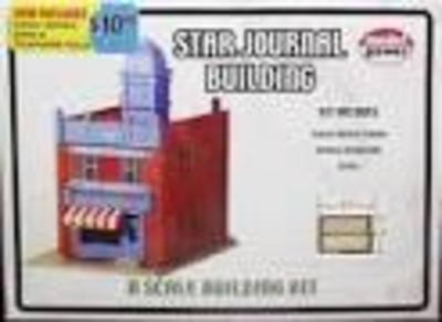 MODEL POWER #1510 STAR JOURNAL BUILDING | Amatos Toy & Hobby