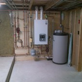 Combination Units for Heat & Hot Water