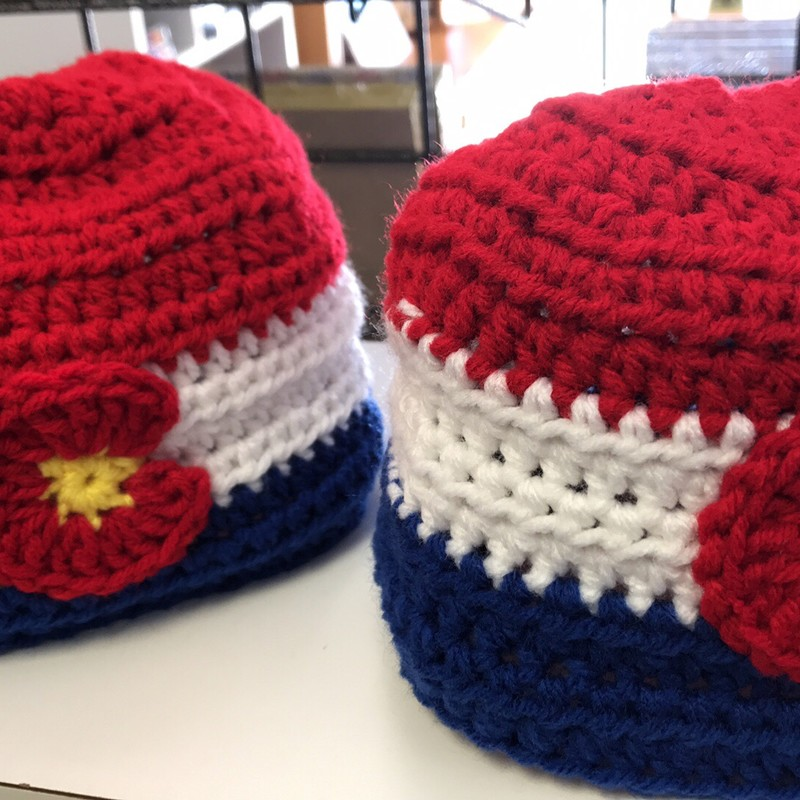 Colorado Hat w/an Olympic theme!  Infant - child size.