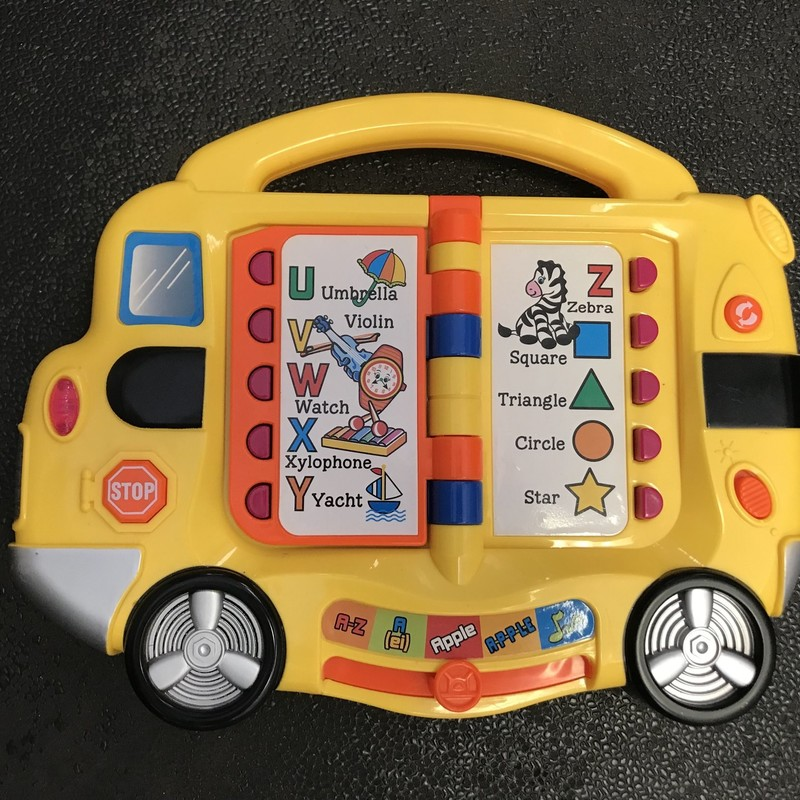School Bus Board W/sounds in excellent condition, comes with 3 AA batteries.  NO SHIPPING-in store pick up only