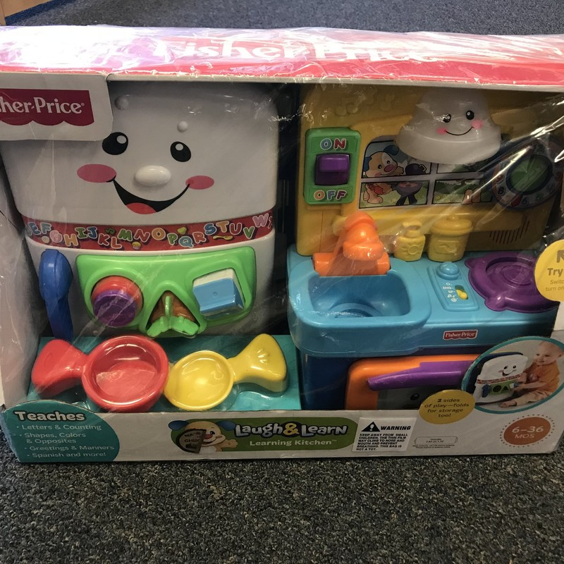 Fisher Price Laugh & Learn Kitchen-new in box. NO SHIPPING-in store pick up only