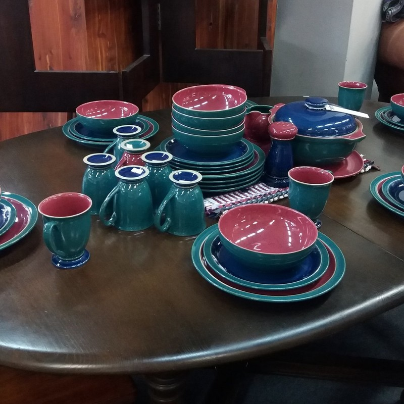 Denby Pottery Set