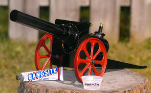 The Larger the cannon....  the Louder the BANG!