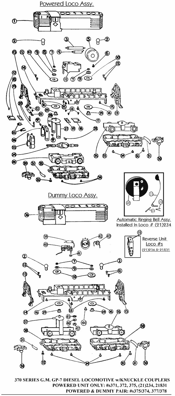 American Flyer 370 Parts Diagram - Basic Guide Wiring Diagram •