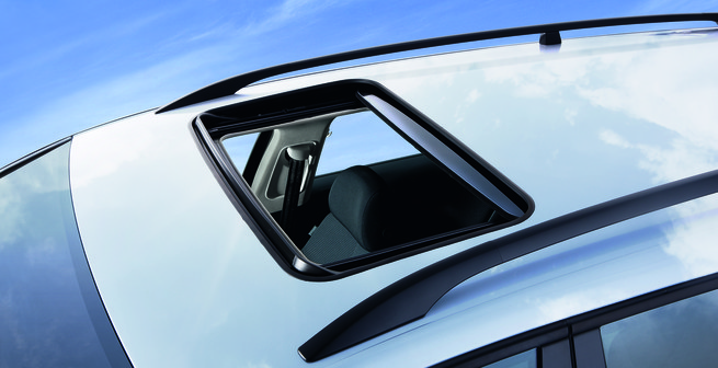 Inbuilt Power Sunroofs