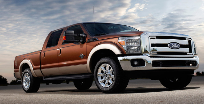 Ford F Series Leather Interior