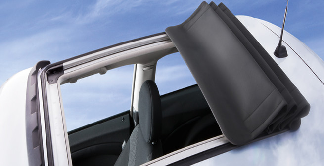Folding Fabric Sunroof