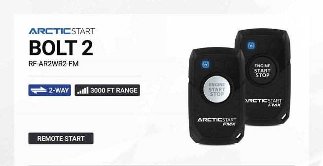 Arctic Start Bolt2