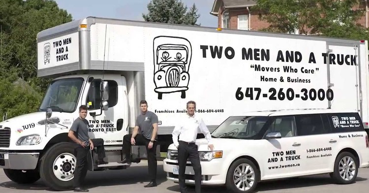 Two Men and a Truck Franchise Opportunity