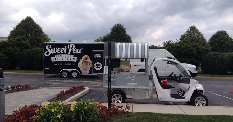 Sweet Pea Ice Cream Trucks Franchise Opportunity
