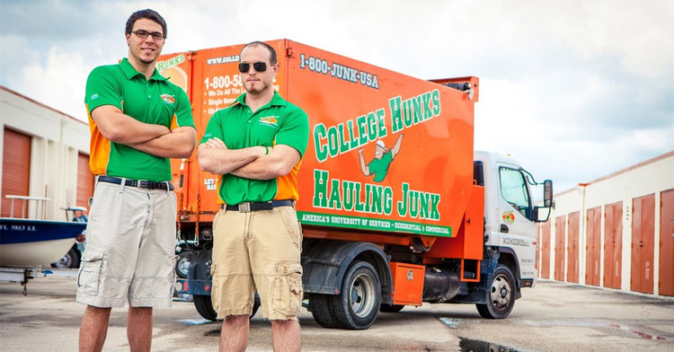 College Hunks Hauling Junk Franchise Opportunity