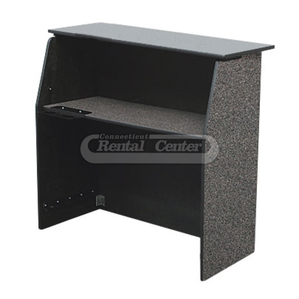 rent 4 39 portable bar faux granite from ct rental center. Black Bedroom Furniture Sets. Home Design Ideas