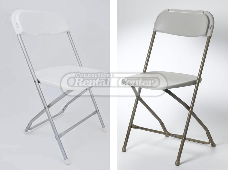 rent fiberglass folding chair from ct rental center