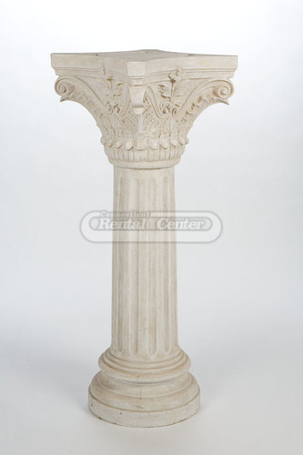 Rent 41 Stone Column Flower Stands From CT Rental Center