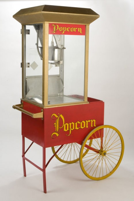 vintage popcorn machine rental