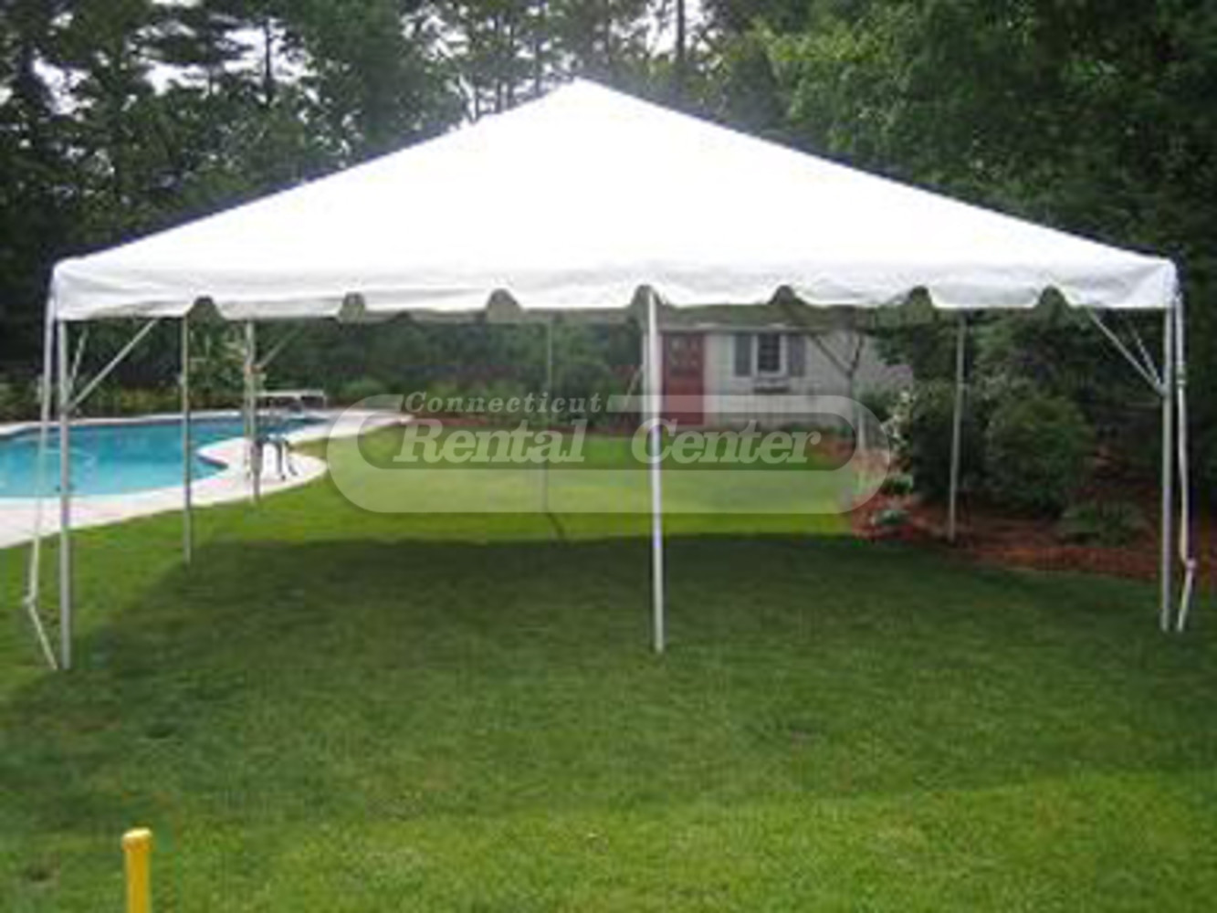 Rent 20 X 20 Frame Tents From Ct Rental Center
