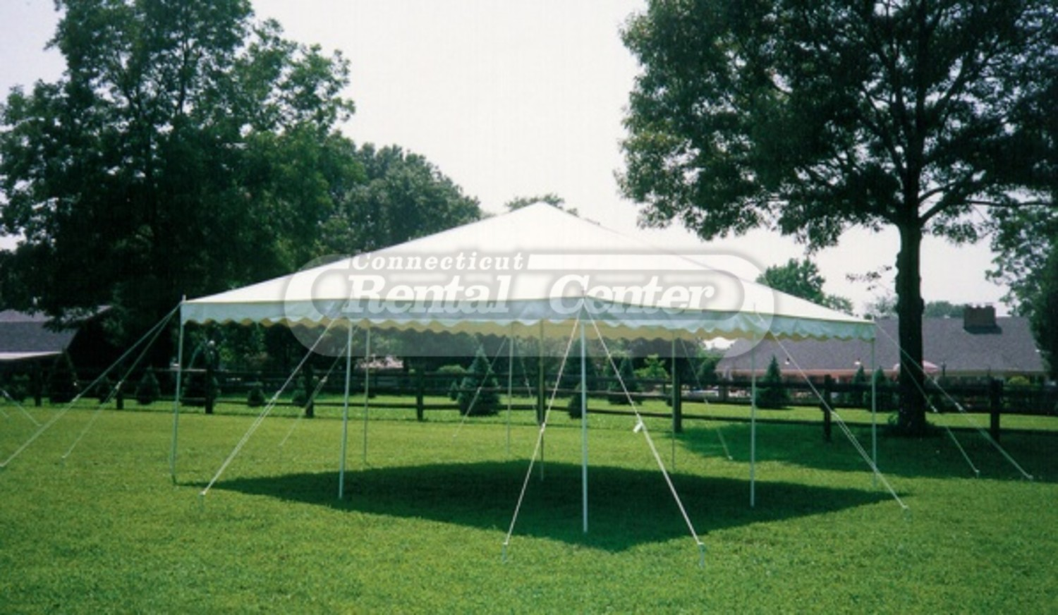 & Rent 20 x 20 Self Install Canopy Tents from CT Rental Center