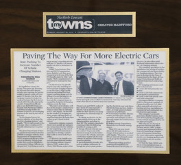 Hartford Courant My Towns - Paving the Way for More Electric Cars