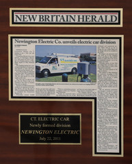 New Britain Herald - Newington Electric Co. unveils electric car division